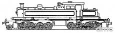 Kitson-Meijer-Dampflokomotive