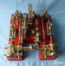 Peggy als 2-Zylinder-Horizontalmaschine