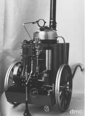 Larbodière - Französische Lokomobile