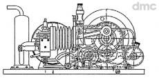 4-Takt Gas-Motor