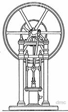 Elegance - 4 Säulen-Dampfmaschine
