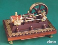 Oda - liegende Dampfmaschine