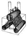 Yarrowkessel - Schiffsdampfkessel