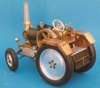 Mini-Traktor mit Vakuummotor