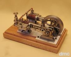 2-Zylinder-Dampfmaschine