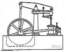 Balancier-Dampfmaschine