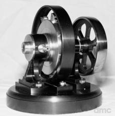 Rotierende 8-Zylinder-Dampfmaschine