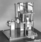 Mona - oszillierende 2-Zylinder-Dampfmaschine