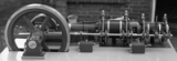Liegende ventilgesteuerte Tandem-Dampfmaschine