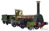 Die Pfalz (Nachbau) - Crampton-Lokomotive