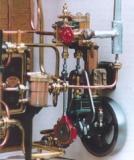 Dampfpumpe für Wandmontage
