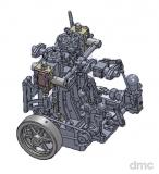 Little Kathy - 2-Zylinder-Vertikalmaschine