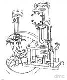 P1 - 1-Zylinder-Maschine