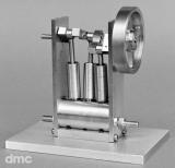 Oszillierende 3-Zylinder-Dampfmaschine