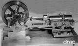 Doppelseitige 1-Zylinder-Dampfmaschine
